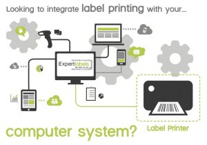Barcode label software integrates your data and your labels