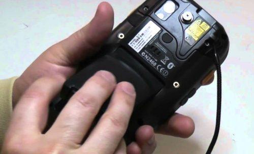 Handheld terminal battery