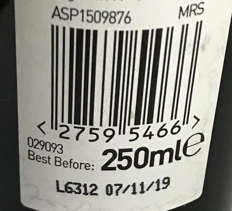 GTIN-8 Barcode