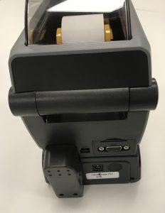 Zebra ZD410 with battery base