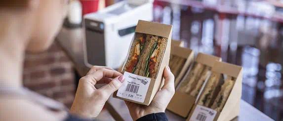 Natasha's Law Compliant Food Label Printing