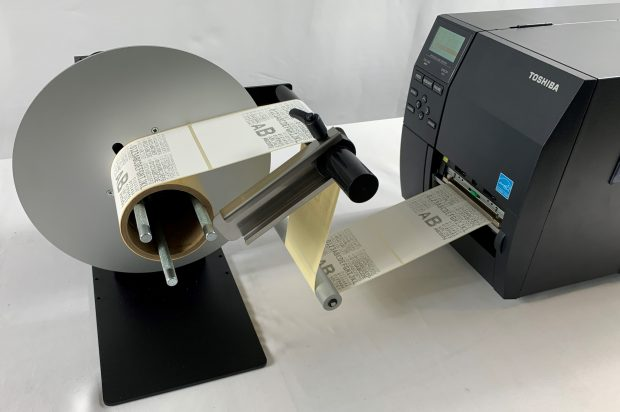 Label Rewinder Unit