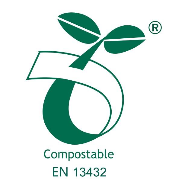 Compostable logo